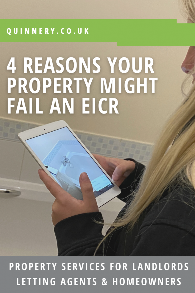 EICR Certificate - 4 reasons your property might fail